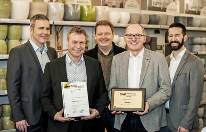 Referenz – Scheurich SAP Award Innovation Conceto Bonn